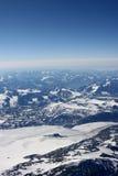 βουνά της Γροιλανδίας στοκ εικόνα