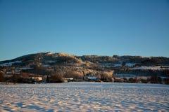 Βουνά της Δημοκρατίας της Τσεχίας Kozakov Στοκ εικόνες με δικαίωμα ελεύθερης χρήσης