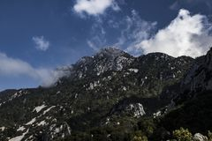 Βουνά της Ελλάδας Στοκ Εικόνες