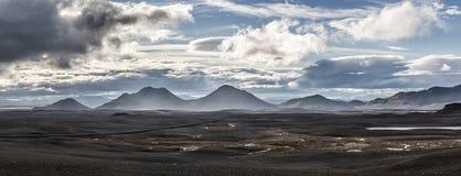 βουνά της Ισλανδίας Στοκ Φωτογραφίες