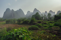 Βουνά της Κίνας και καρστ στοκ φωτογραφία με δικαίωμα ελεύθερης χρήσης