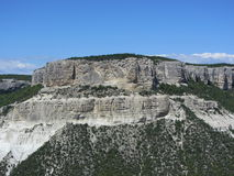 Βουνά της Κριμαίας Στοκ Φωτογραφία