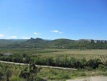 Βουνά της Κριμαίας Στοκ Φωτογραφίες