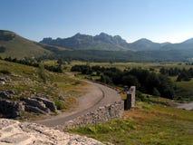 βουνά της Κροατίας Στοκ φωτογραφία με δικαίωμα ελεύθερης χρήσης