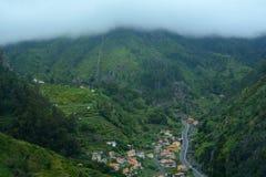 Βουνά της Μαδέρας, Πορτογαλία Στοκ φωτογραφία με δικαίωμα ελεύθερης χρήσης