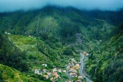 Βουνά της Μαδέρας, Πορτογαλία Στοκ εικόνες με δικαίωμα ελεύθερης χρήσης