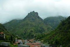 Βουνά της Μαδέρας, Πορτογαλία Στοκ Εικόνες