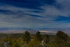 Βουνά της Νεβάδας, ΗΠΑ Στοκ Φωτογραφίες