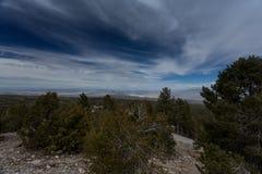 Βουνά της Νεβάδας, ΗΠΑ Στοκ Εικόνες