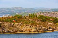 Βουνά της Νορβηγίας και τοπίο φιορδ στοκ εικόνα με δικαίωμα ελεύθερης χρήσης