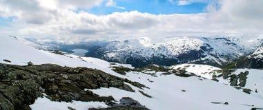 Βουνά της Νορβηγίας στοκ φωτογραφίες