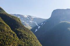 Βουνά της Νορβηγίας Στοκ εικόνες με δικαίωμα ελεύθερης χρήσης