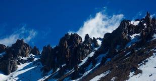 Βουνά της Παταγωνίας Στοκ εικόνες με δικαίωμα ελεύθερης χρήσης