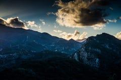 Βουνά της Σάντα Μόνικα Στοκ φωτογραφία με δικαίωμα ελεύθερης χρήσης