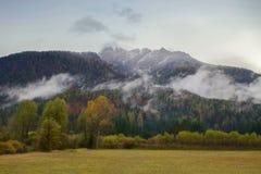 Βουνά της Σλοβενίας στοκ φωτογραφία με δικαίωμα ελεύθερης χρήσης