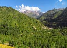 Βουνά της Shan Tian Στοκ Φωτογραφίες
