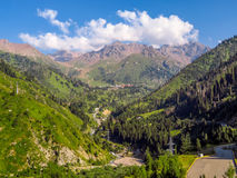 Βουνά της Shan Tian Στοκ φωτογραφία με δικαίωμα ελεύθερης χρήσης