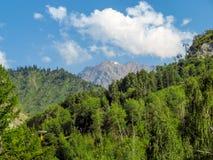 Βουνά της Shan Tian Στοκ φωτογραφίες με δικαίωμα ελεύθερης χρήσης