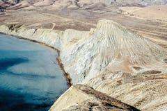 Βουνά, τοπίο θάλασσας και ερήμων στοκ φωτογραφία με δικαίωμα ελεύθερης χρήσης
