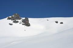 βουνά τοπίων χιονώδη Στοκ φωτογραφίες με δικαίωμα ελεύθερης χρήσης