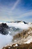 βουνά του Ίνσμπρουκ Στοκ φωτογραφίες με δικαίωμα ελεύθερης χρήσης