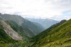 Βουνά του ανατολικού Sayan στοκ εικόνα