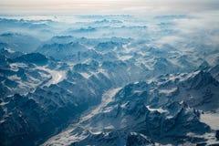 Βουνά του Θιβέτ Στοκ Φωτογραφία