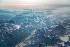 Βουνά του Θιβέτ Στοκ Φωτογραφίες