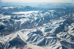 Βουνά του Θιβέτ Στοκ φωτογραφία με δικαίωμα ελεύθερης χρήσης