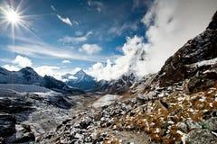 βουνά του Ιμαλαίαυ Στοκ φωτογραφίες με δικαίωμα ελεύθερης χρήσης