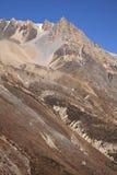 Βουνά του Ιμαλαίαυ στο Νεπάλ. Στοκ Φωτογραφία