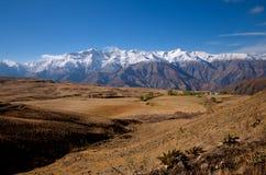 Βουνά του Ιράν Alborz Στοκ Φωτογραφίες