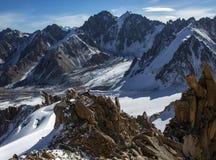 Βουνά του Καζακστάν Μέγιστη νεολαία Στοκ εικόνα με δικαίωμα ελεύθερης χρήσης
