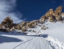 Βουνά του Καζακστάν Μέγιστη νεολαία Στοκ φωτογραφίες με δικαίωμα ελεύθερης χρήσης