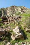 Βουνά του Καζακστάν, τα Τιέν Σαν shan tian βουνών ili alatau δια Υψηλό plat Στοκ Εικόνες