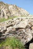 Βουνά του Καζακστάν, τα Τιέν Σαν shan tian βουνών ili alatau δια Υψηλό plat Στοκ εικόνα με δικαίωμα ελεύθερης χρήσης