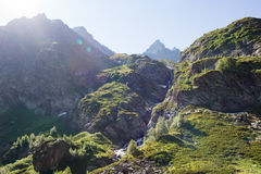 Βουνά του Καύκασου, Arkhyz Στοκ φωτογραφία με δικαίωμα ελεύθερης χρήσης