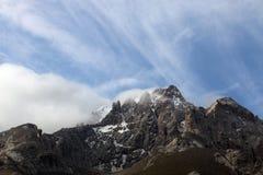 βουνά του Κιργιζιστάν στοκ εικόνα