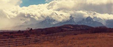 βουνά του Κολοράντο Στοκ Εικόνα