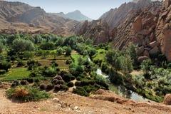 βουνά του Μαρόκου ατλάντ&o Στοκ Εικόνα