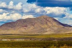 Βουνά του δυτικού Τέξας στοκ εικόνα