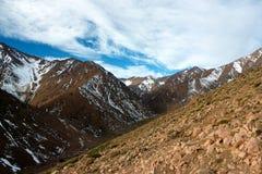 Βουνά του υψηλού άτλαντα Στοκ φωτογραφίες με δικαίωμα ελεύθερης χρήσης