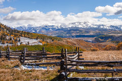 Βουνά του San Juan του Κολοράντο Στοκ φωτογραφίες με δικαίωμα ελεύθερης χρήσης