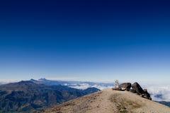 Βουνά των Άνδεων, Ισημερινός, εναέρια όψη Στοκ Φωτογραφίες