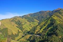 Βουνά των Άνδεων στο εθνικό φυσικό χιόνι πάρκων, Κολομβία Στοκ εικόνες με δικαίωμα ελεύθερης χρήσης