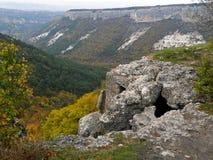 Βουνά φθινοπώρου της Κριμαίας Στοκ εικόνες με δικαίωμα ελεύθερης χρήσης