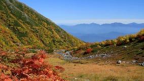 Βουνά φθινοπώρου απόθεμα βίντεο