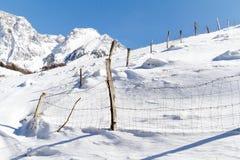 βουνά φραγών Στοκ εικόνα με δικαίωμα ελεύθερης χρήσης