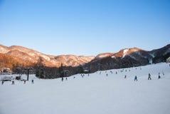 Βουνά χιονιού Στοκ Εικόνες