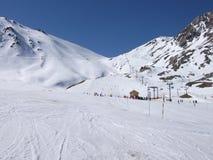 Βουνά χιονιού Στοκ φωτογραφίες με δικαίωμα ελεύθερης χρήσης